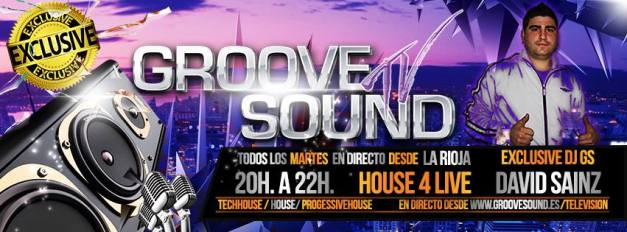 Flyer Groove David Sainz - House For Life 3.0