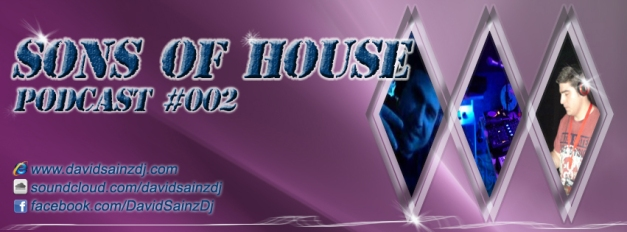 flyer podcast SONS OF HOUSE #002