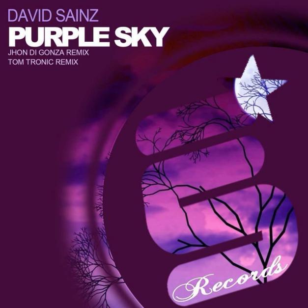 cover david sainz - purple sky EP [evolution senses records]