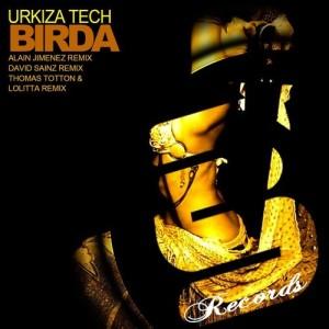 cover david sainz - birda [evolution senses records]